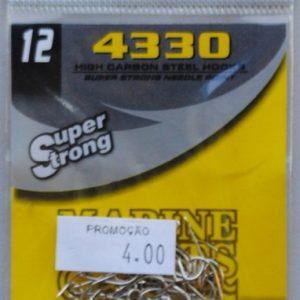 Anzol 4330 Super Strong Nº 12 – Marine Sports