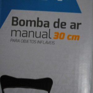 Bomba De Ar Manual 30cm Para Objetos Infláveis – Nova